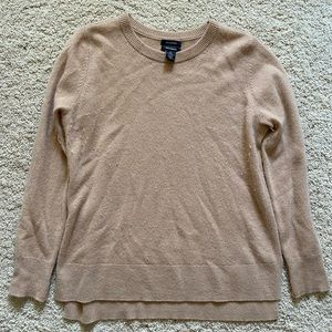 Tan Halogen Petite Women's Medium Sweater